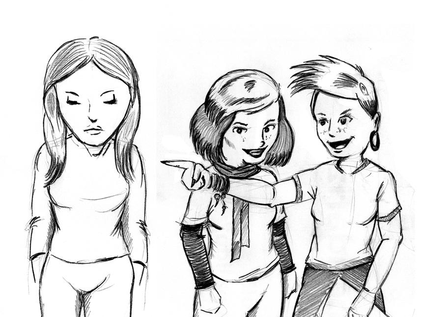 víctima de bullying