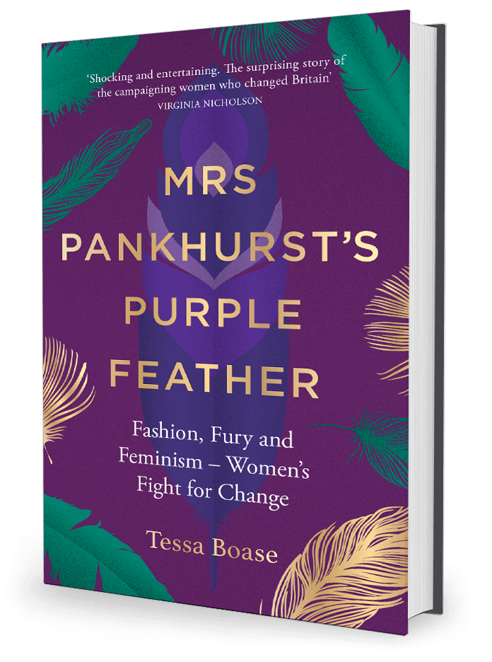 Books by Tessa Boase / Mrs Pankhurst?s Purple Feather & The ...