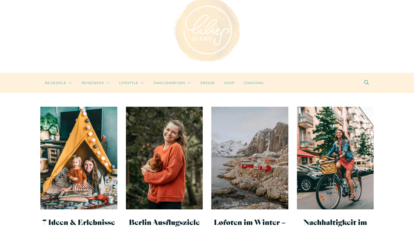 blog design llilies dairy