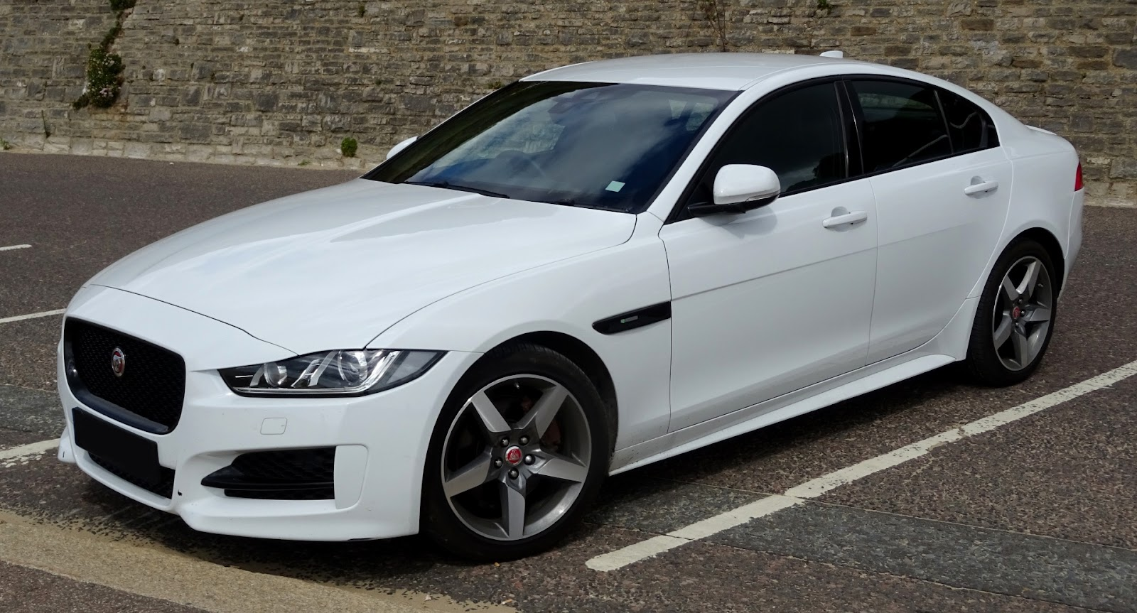 Coche Jaguar Blanco Jaguar