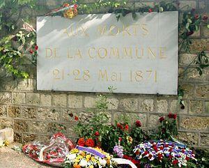 دیوار کمونارها - ویکیپدیا، دانشنامهٔ آزاد