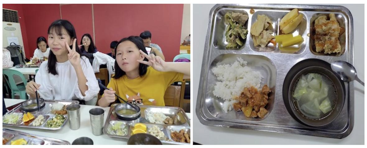 2020菲律賓遊學團孩子們開心吃