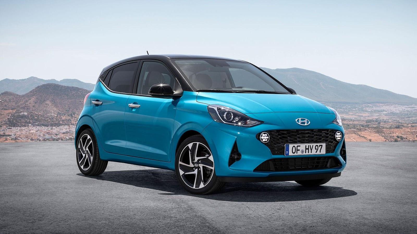 10 mașini noi pe care ți le poți cumpăra cu mai puțin de 15.000 de euro - Hyundai i10