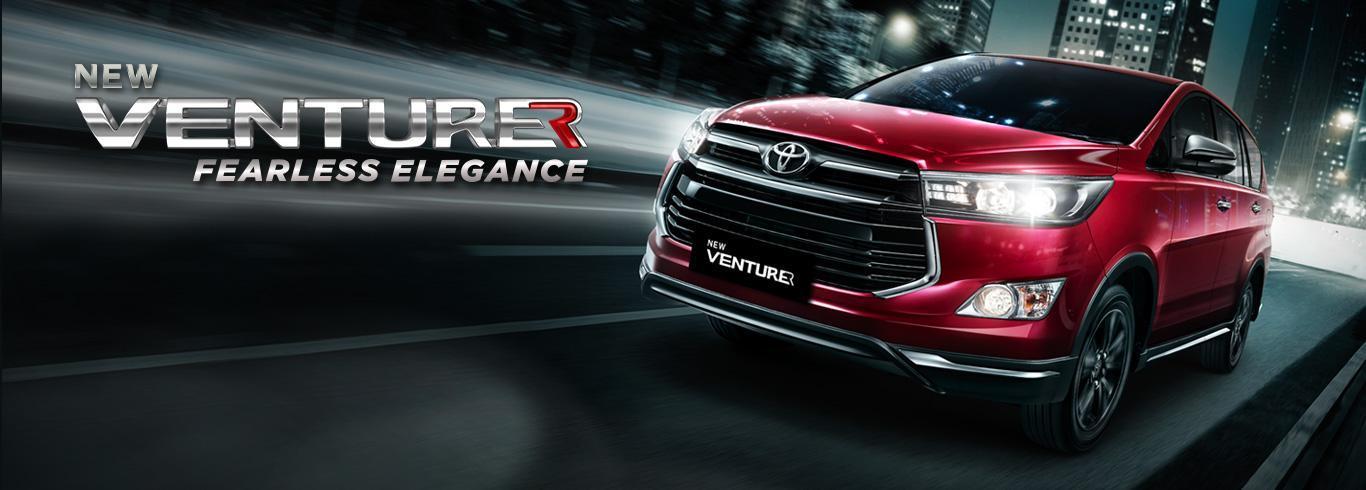 Toyota Venturer dengan Konfigurasi yang Eksotis