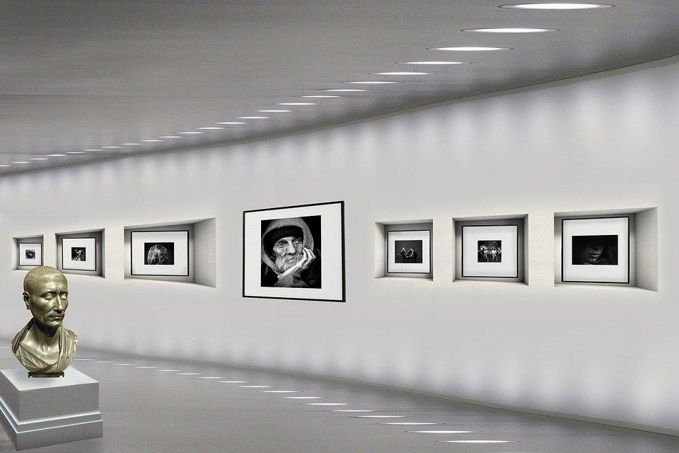 Art Gallery, Pictures, Light, Photographs, Museum