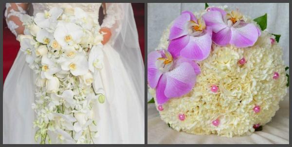 Букеты из орхидей