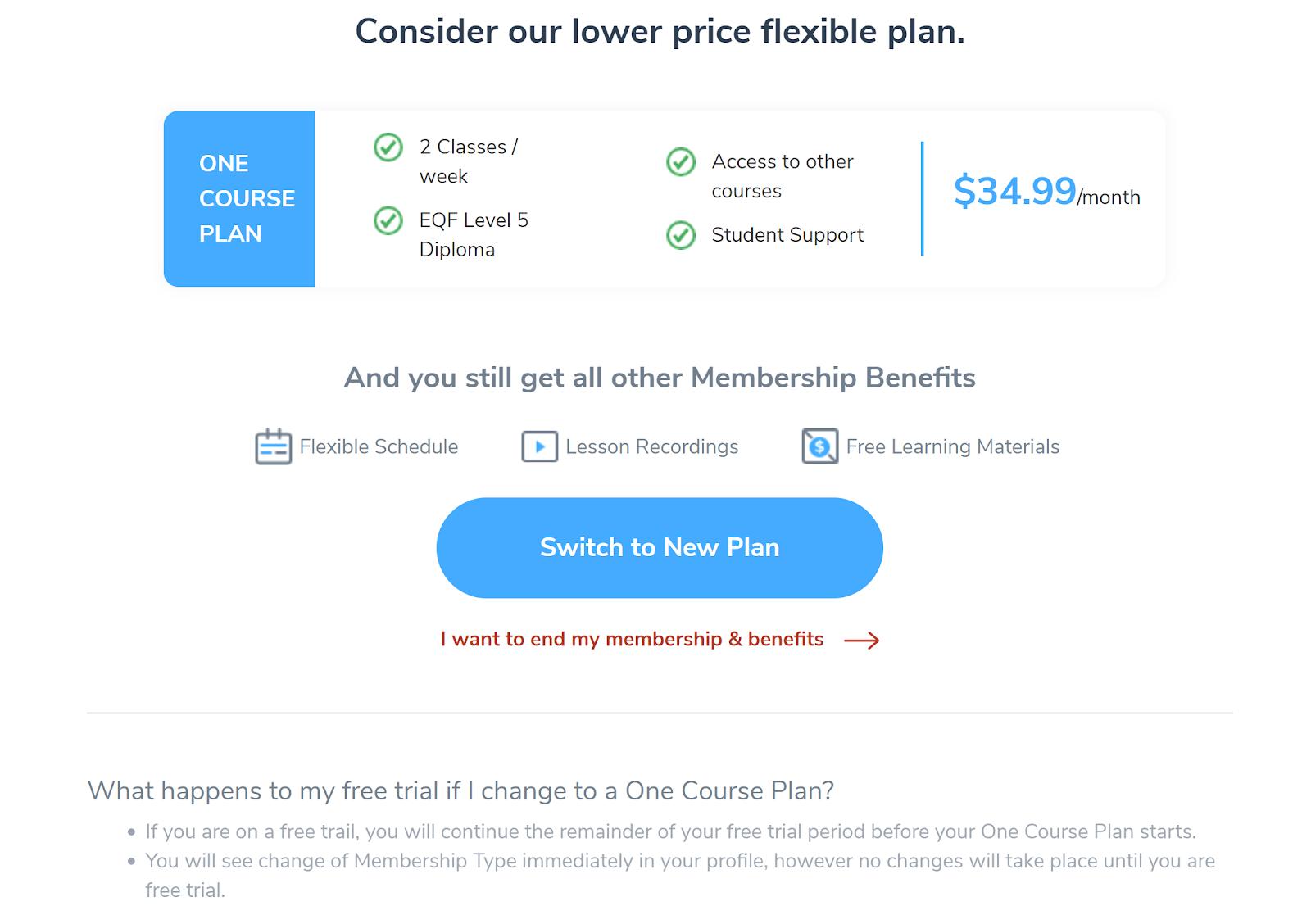 flexible plan email