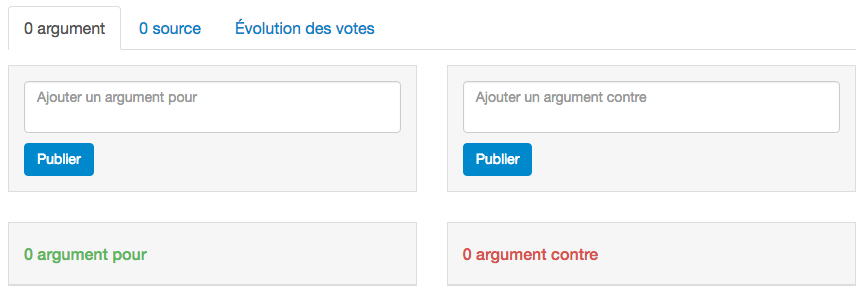 argumenter les propositions
