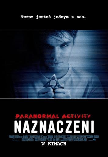 Polski plakat filmu 'Paranolmal Activity: Naznaczeni'