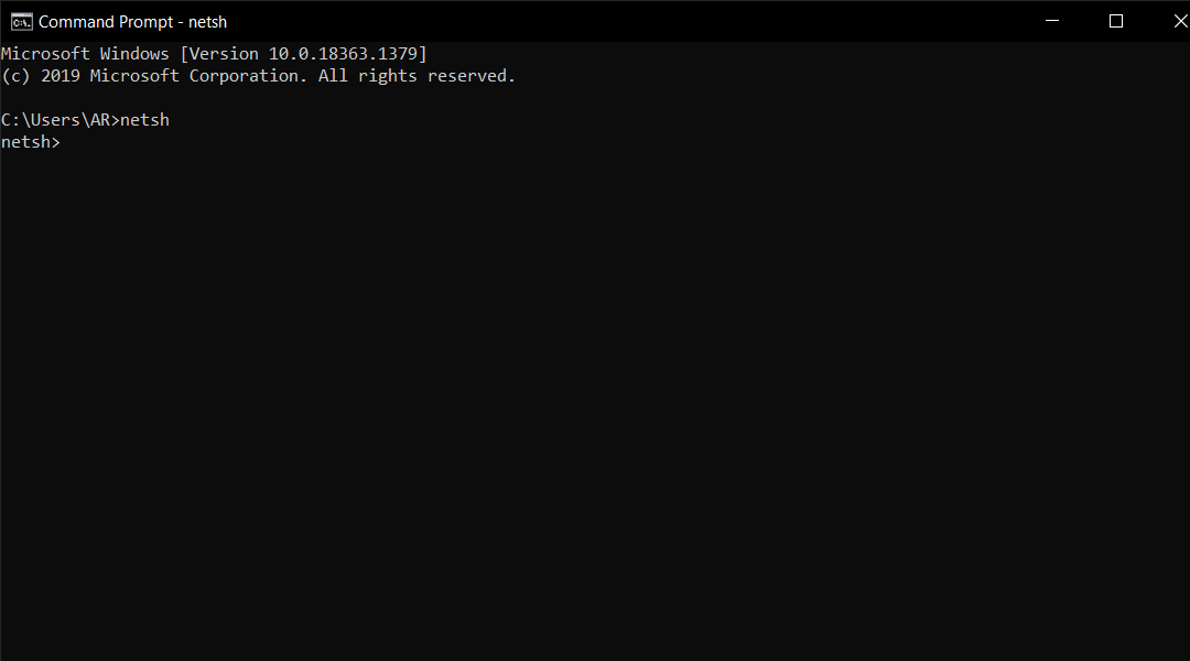 Command Prompt to Change DNS Settings