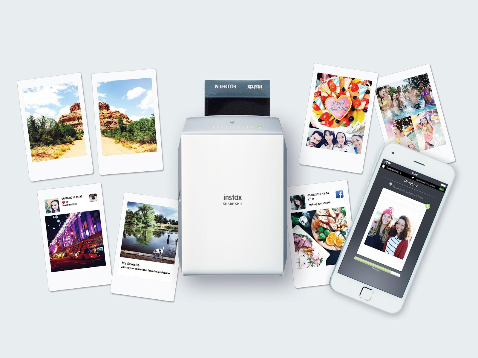 Mobile compatible printer