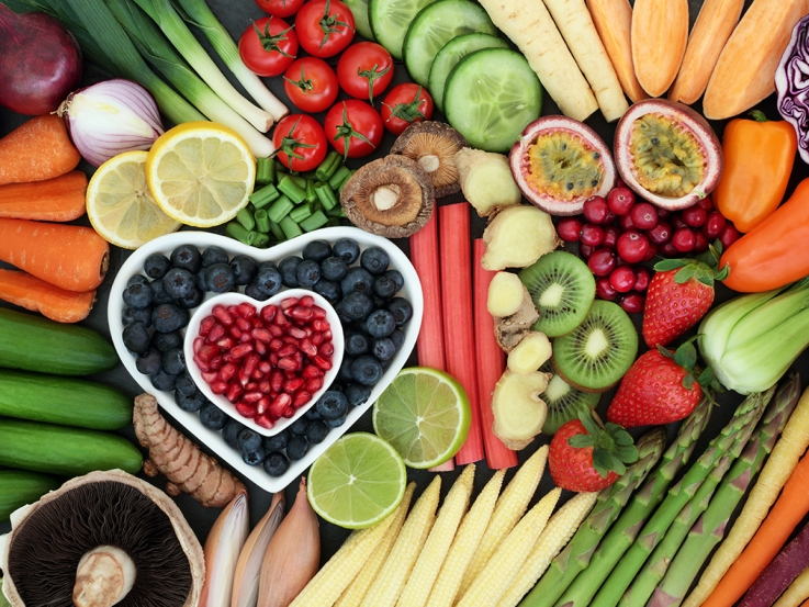 What are the benefits of a vegan lifestyle? (Image Source: Heart Foundation)