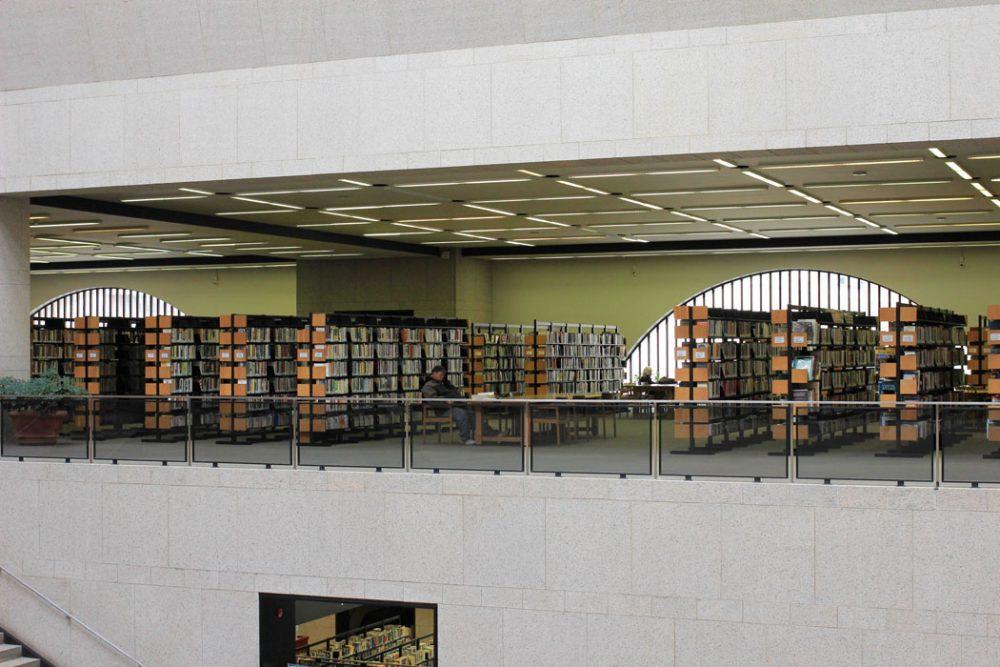 old boston public library johnson building