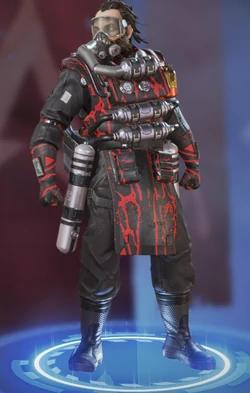 Caustic's Bloodshot skin