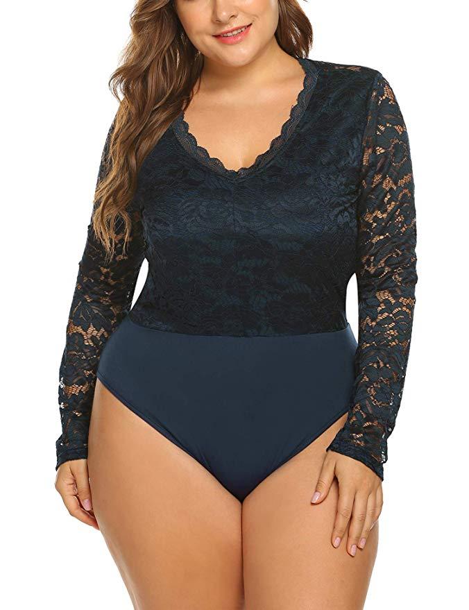 plus-size bodysuit
