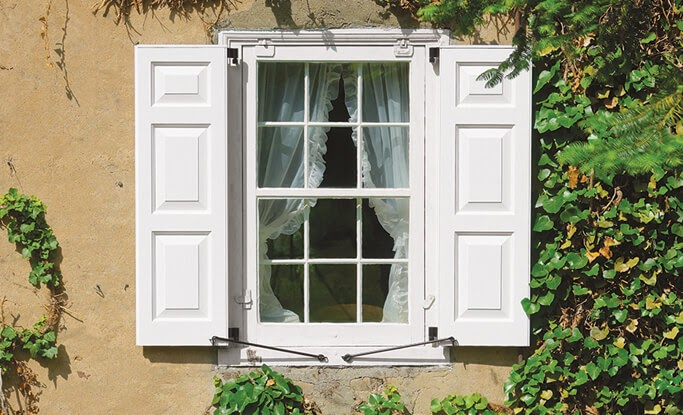 10 Rustic Exterior Window Shutter Designs for Your Home