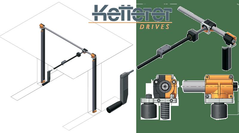Ketterer Ket-Twist 500 3052 Crank Lifting System