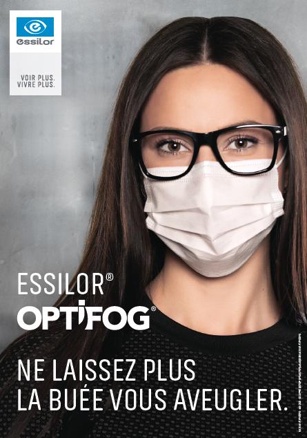 Lunettes antibuée Optifog Essilor