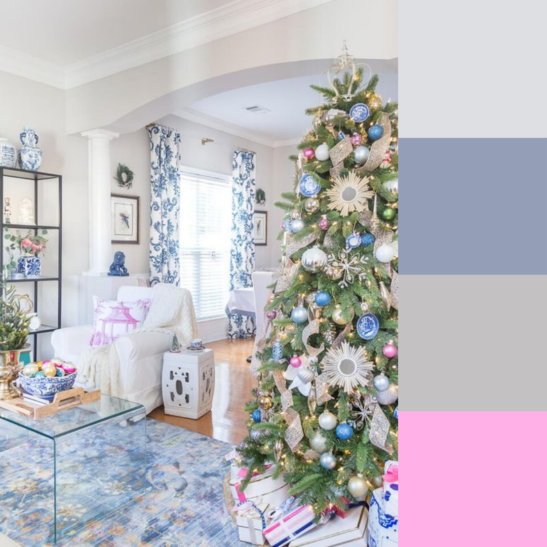 Pastel Blue & Soft Pink