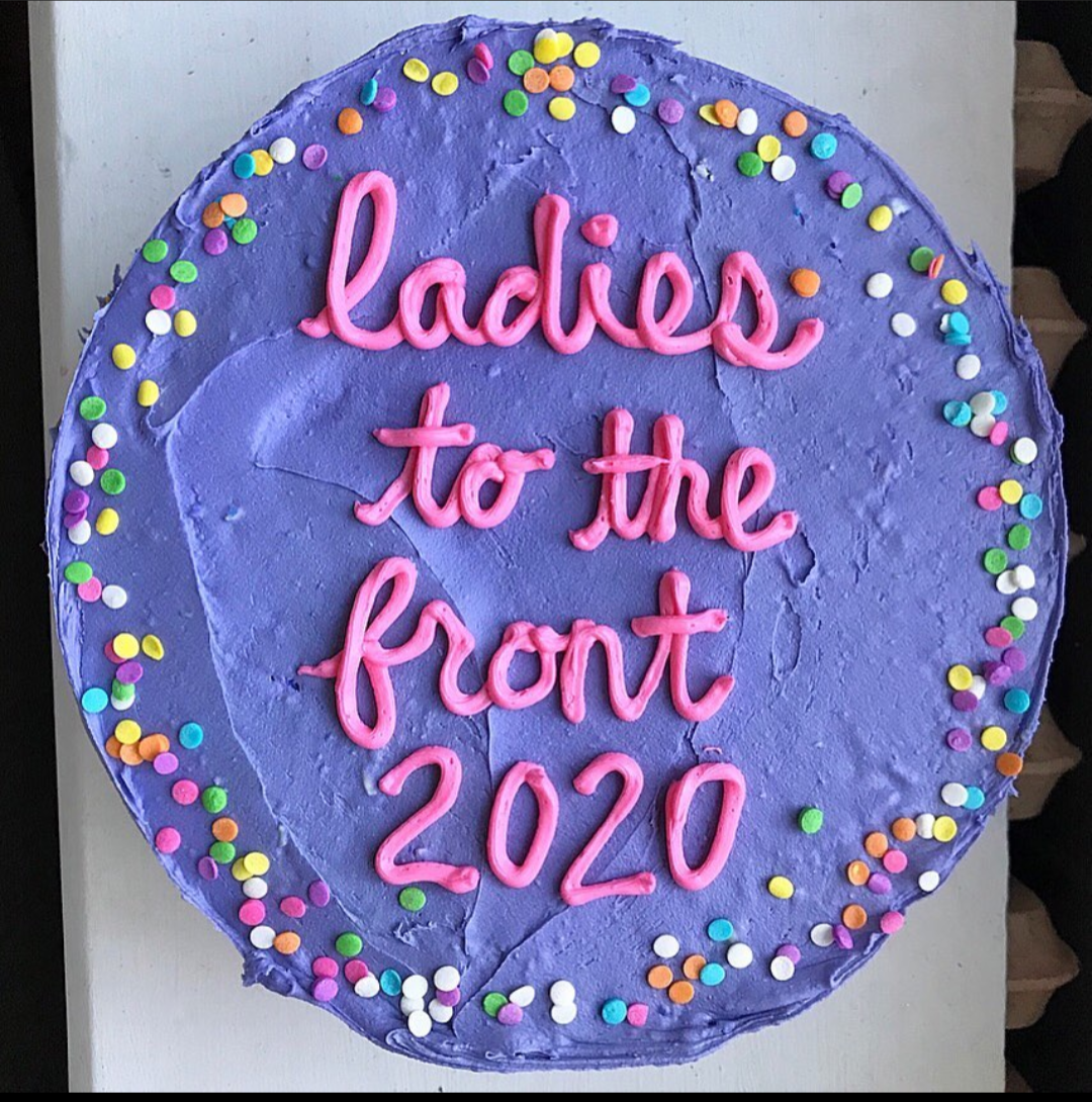 Ladies to the front in 2020.