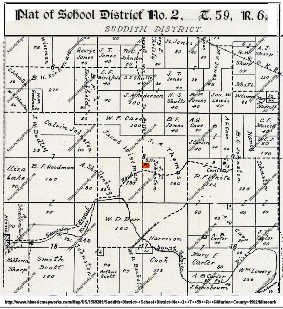 Suddith School District Map.png