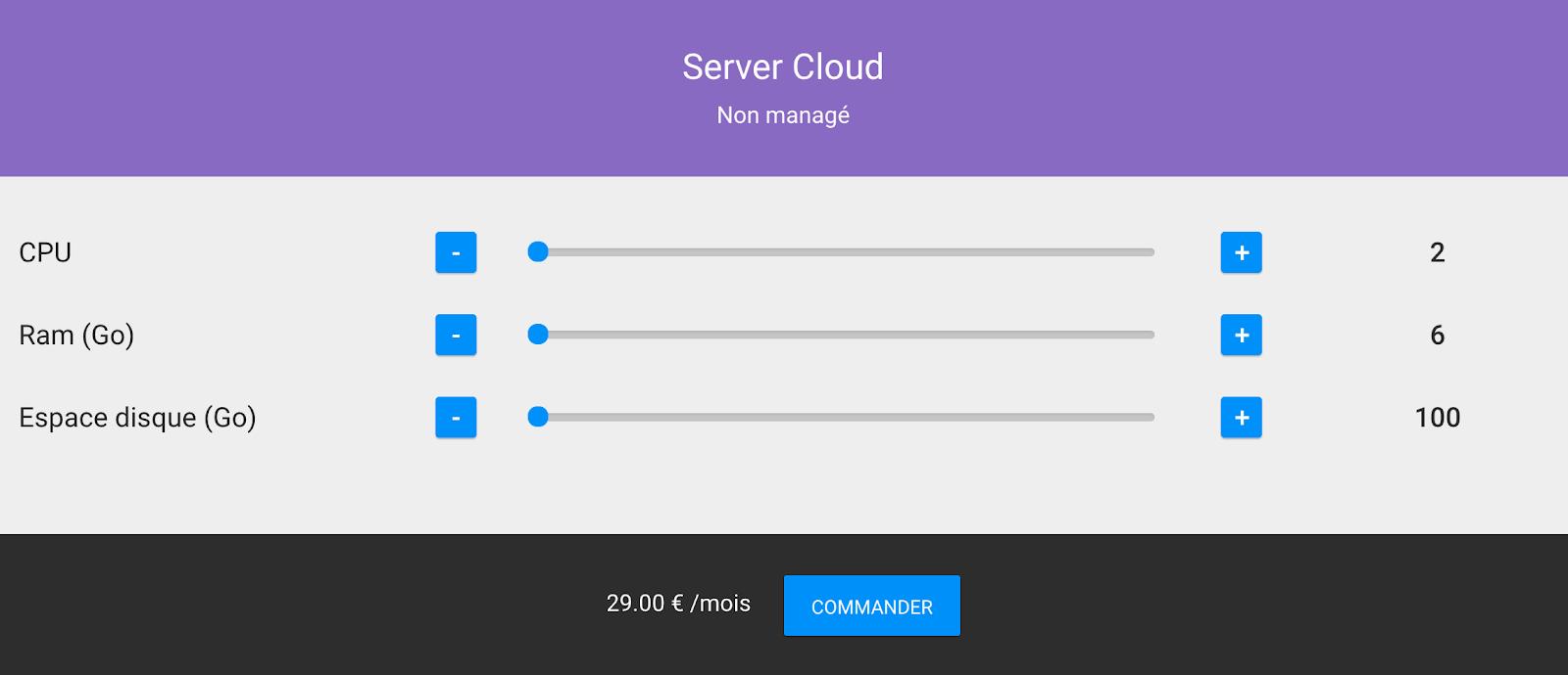 Le Cloud Non Managé