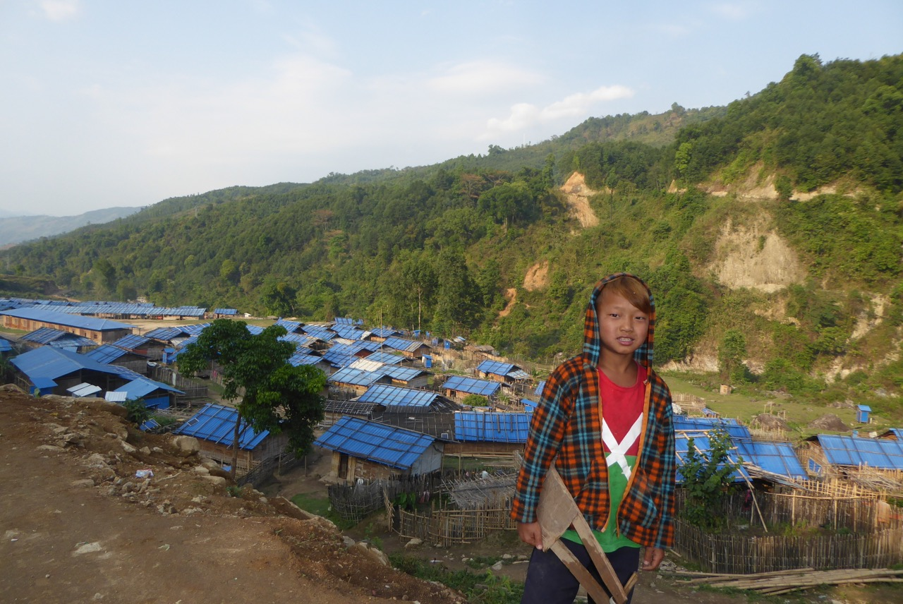 Kachin boy who can not go ho me in Maga Yang IDP camp.
