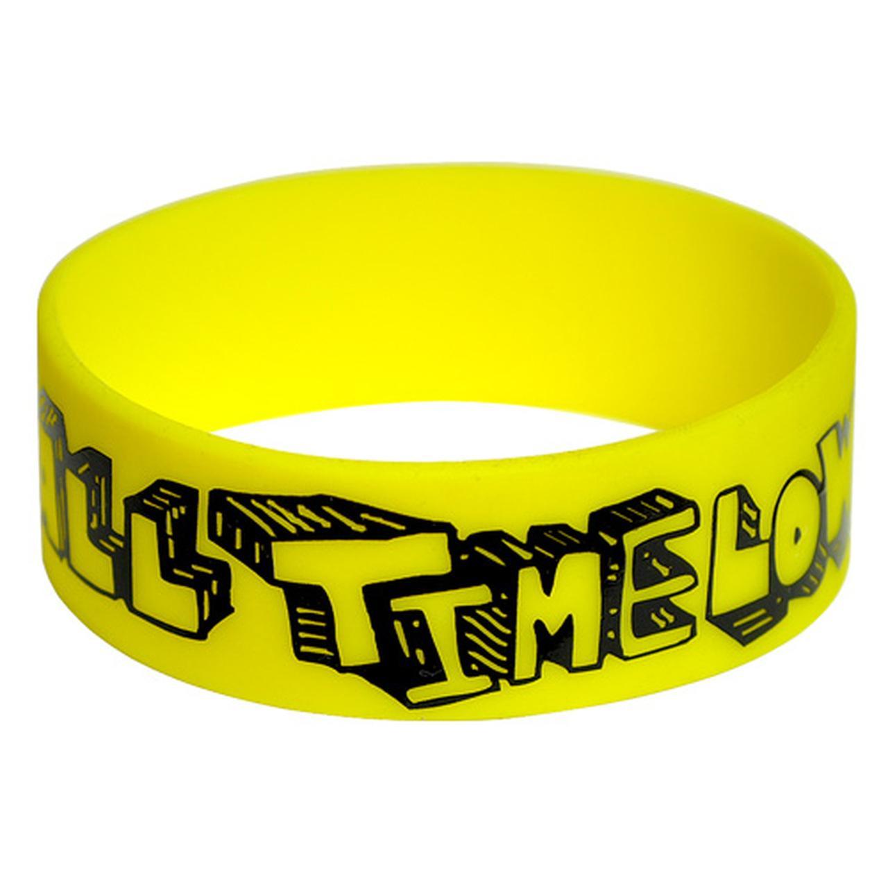 Custom Wide Silicone Wristbands | Screen Printed | LogoTags