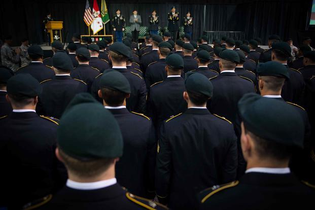 Green Beret graduation ceremony