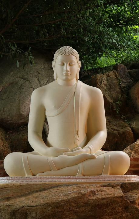 Thiền, Yoga, Zen, Phật, Thư Giãn, Tác Phẩm Điêu Khắc
