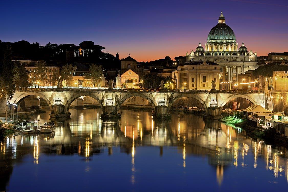 Photography Of Lighted Bridge: Bucket List