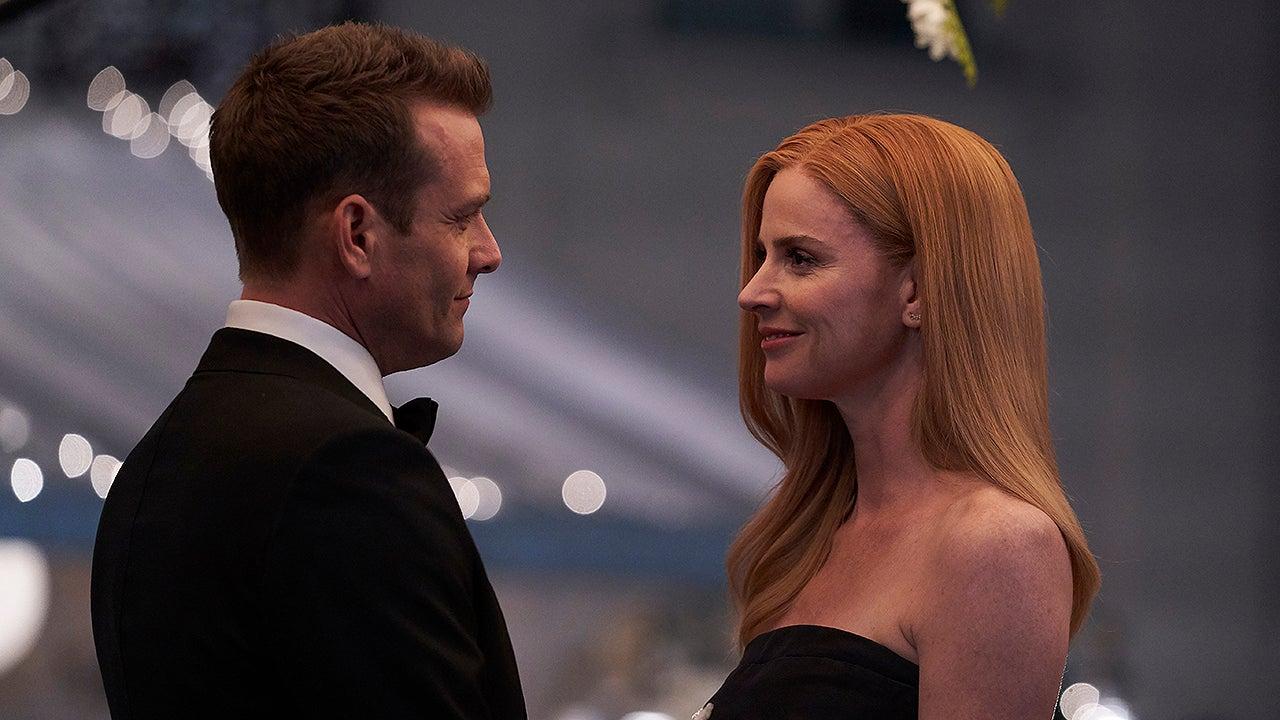 harvey and donna's wedding