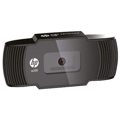 HP W200 HD 720p/30 Fps Webcam