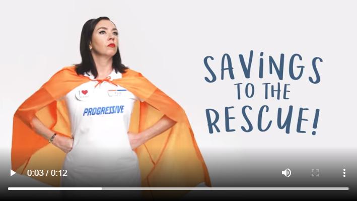 Progressive Insurance, YouTube ad