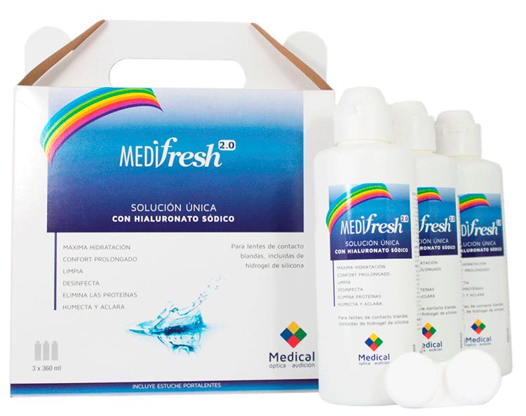 Solución única Medifresh 2.0