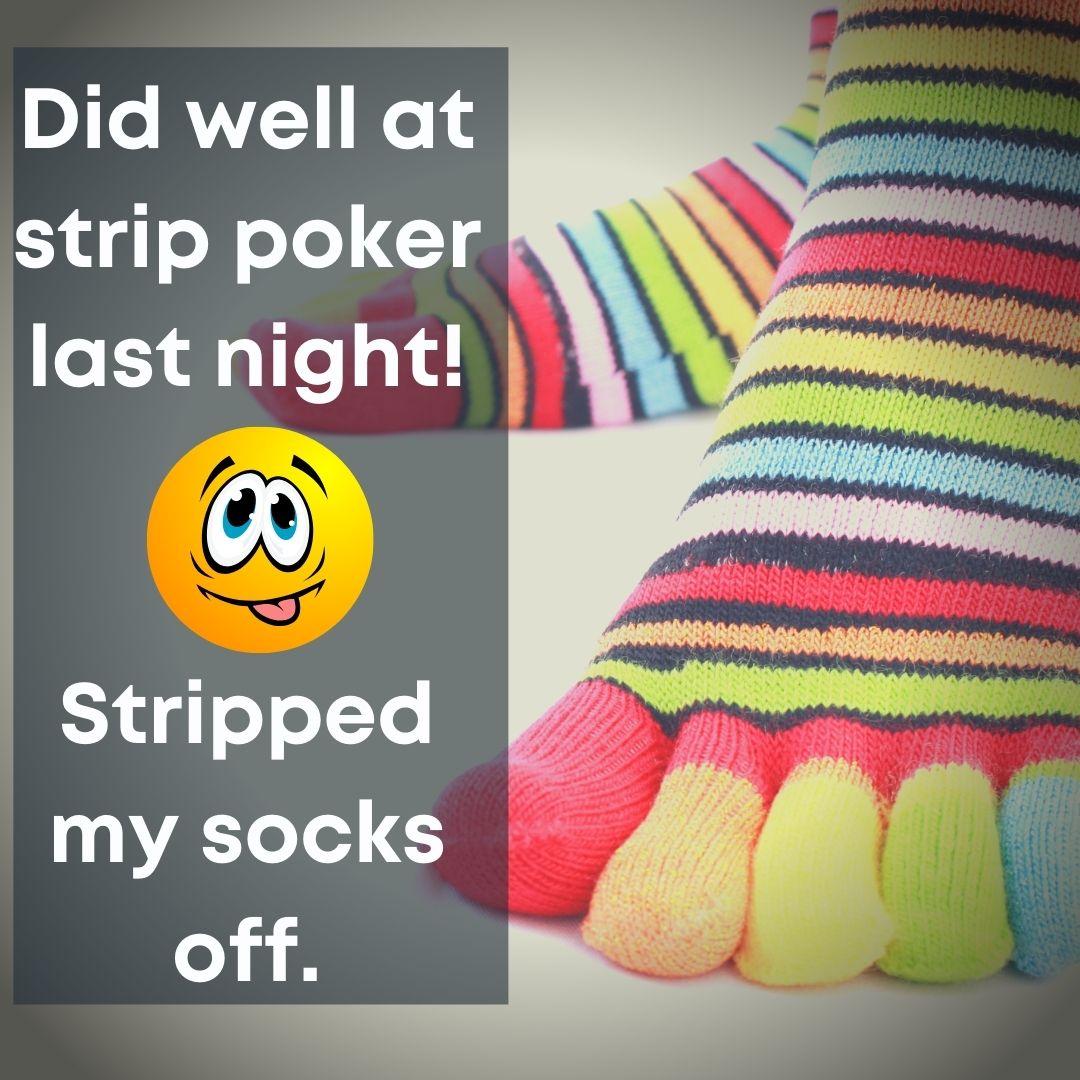 Poker sock joke
