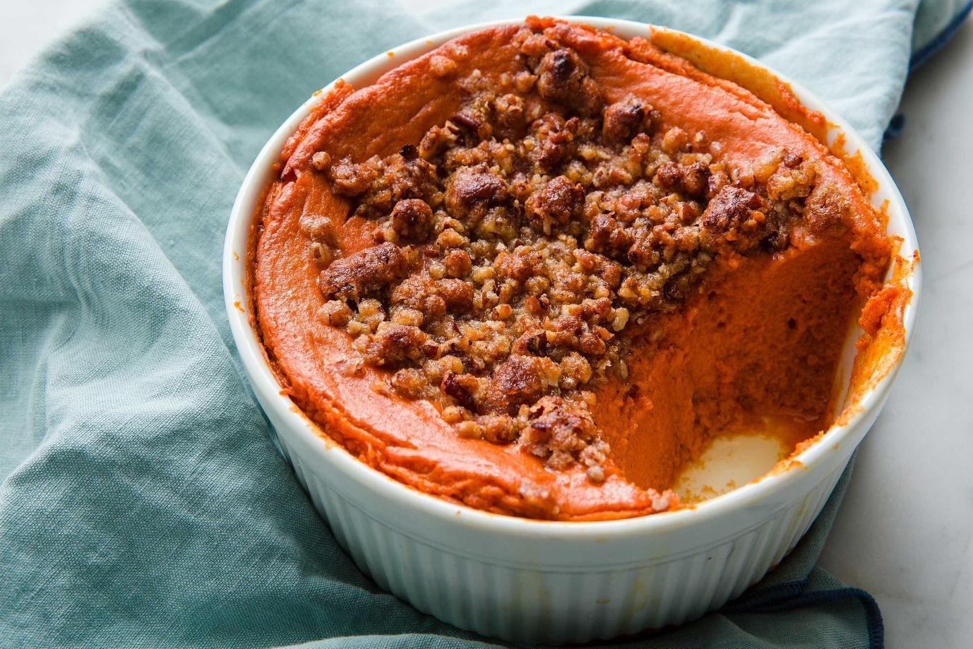 Easy Sweet Potato Soufflé Recipe