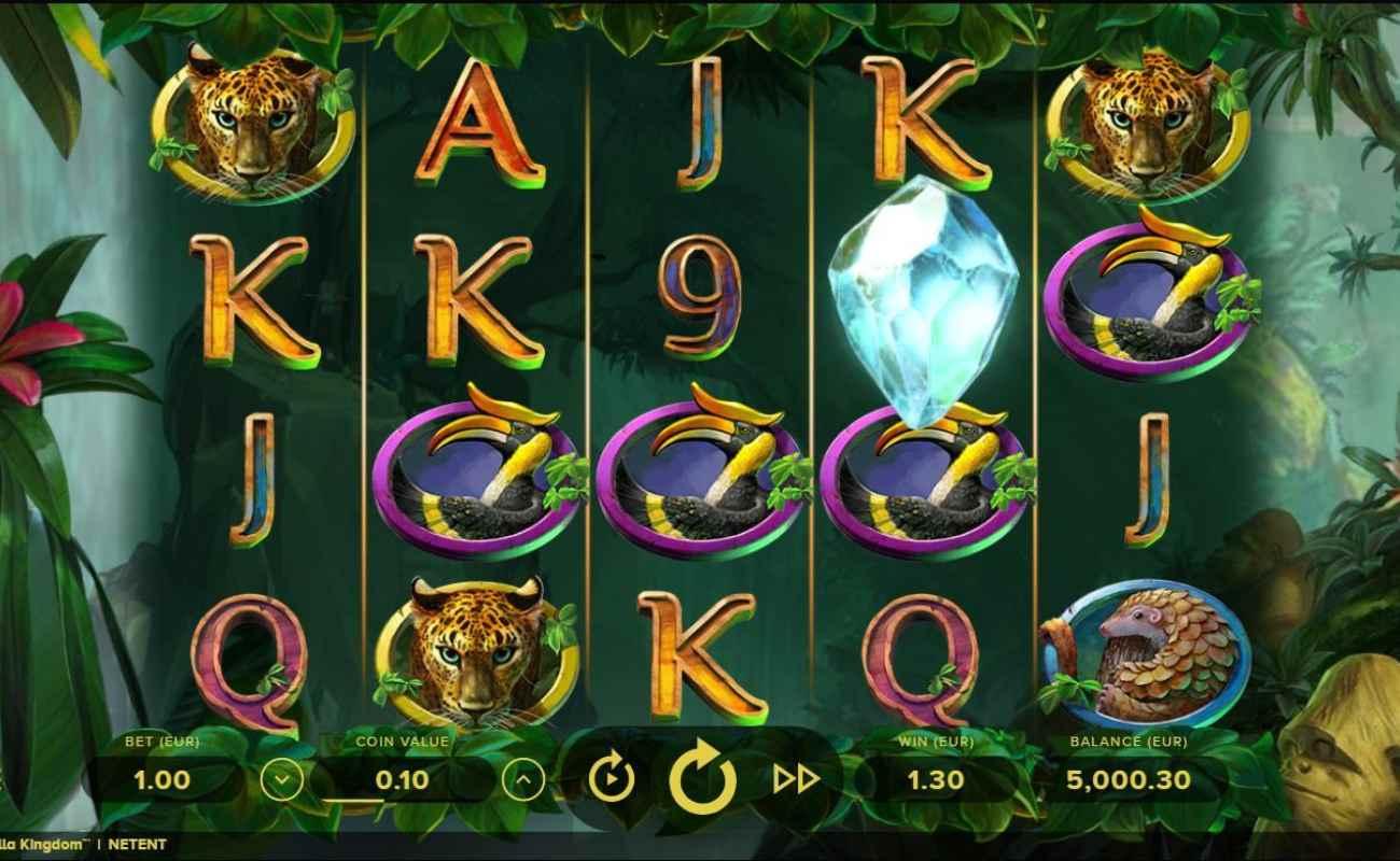 Gorilla Kingdom by NetEnt online slot casino game