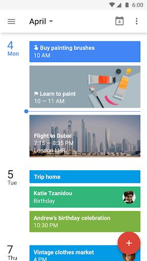 Google Calendar- screenshot thumbnail