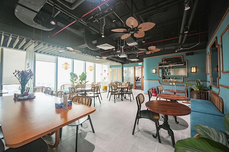 T:\Nha Dep\Up Web\1000 px\2021-10-08\Khu Cafeteria được thiết kế theo phong cách Indochine là nơi nhân viên có không gian thư giãn, gặp gỡ ngay tại văn phòng_H9.jpg