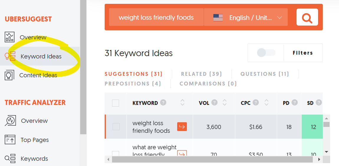 Find more keyword ideas