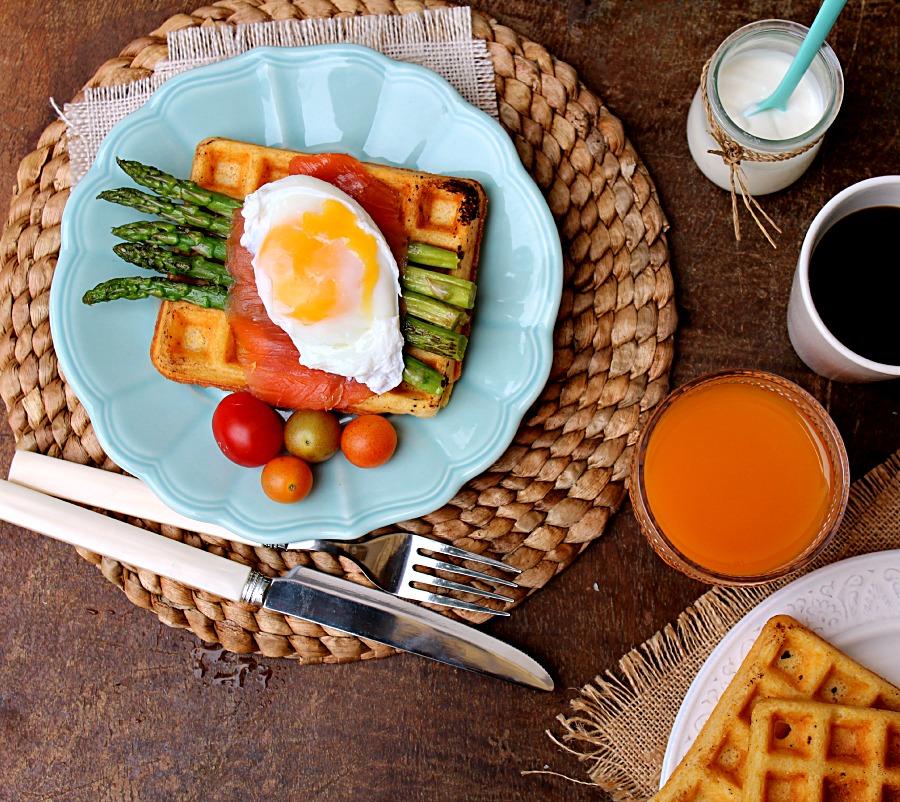 recipe: cornmeal waffles egg whites [32]
