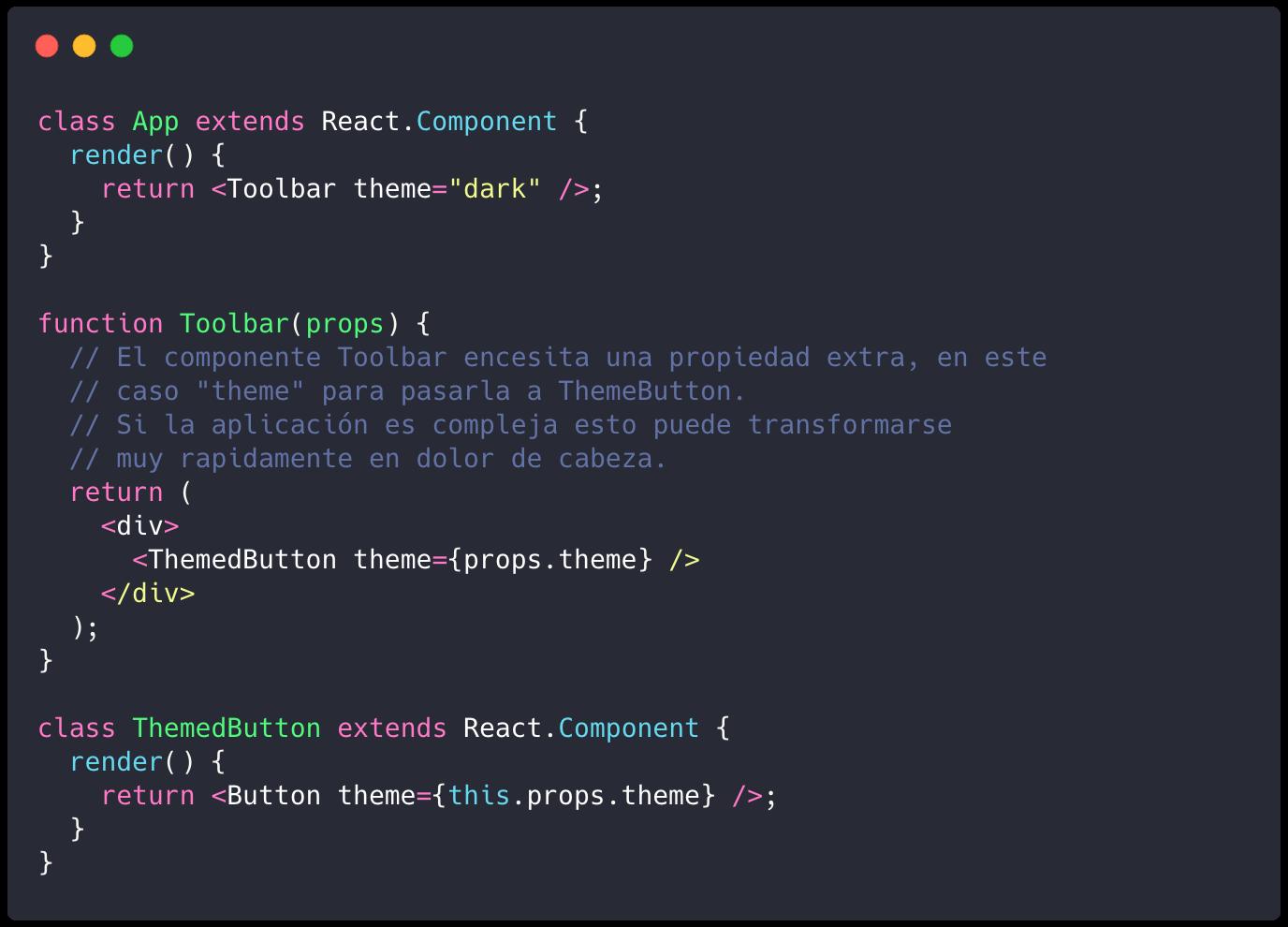 React. ¿Context API puede ser alternativa a Redux?