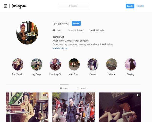Beatrixost, Instagram, Baby Boomer