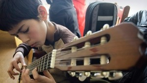 Music makes nicer kids: study