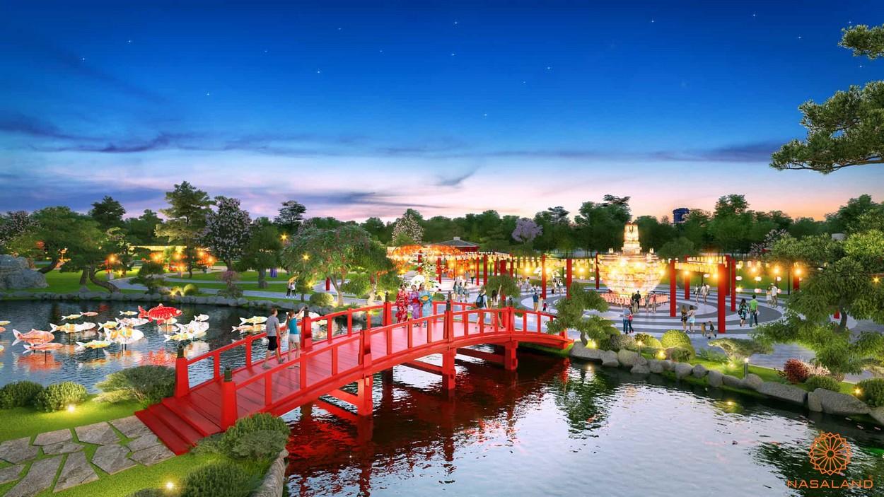 Vườn Nhật - nét riêng biệt của phân khu The Origami - Vinhomes Grand Park Quận 9