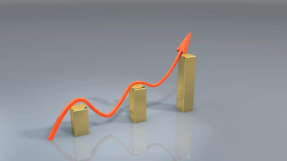 Negocio, Éxito, Ganar, Gráfico, Flecha, El Crecimiento