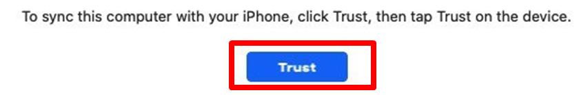 """Click """"Trust"""""""