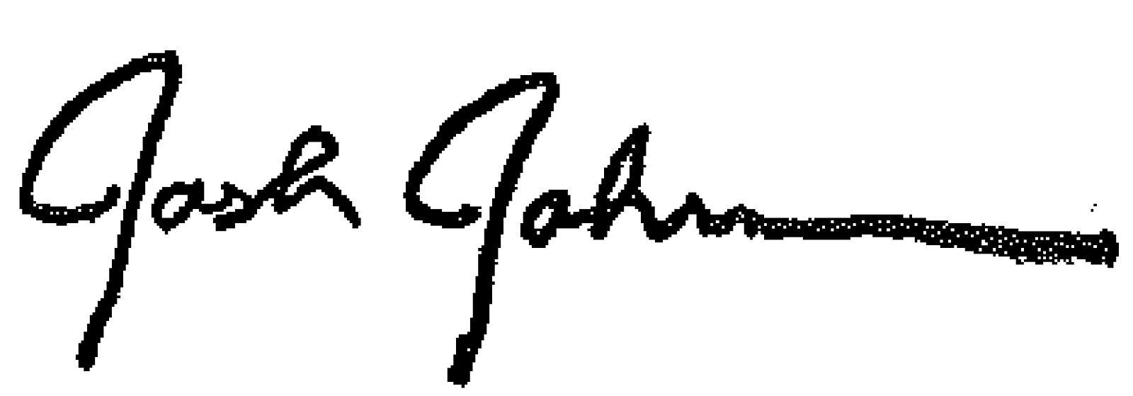 Josh Johnson Signature