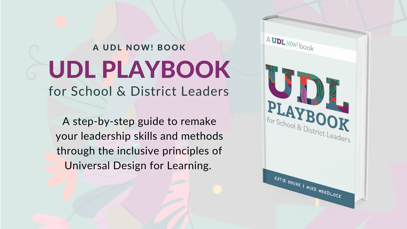 """Picture of book """"UDL Playbook"""""""